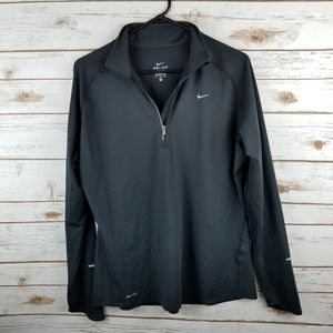 womans NIKE active jacket lightweight LARGE
